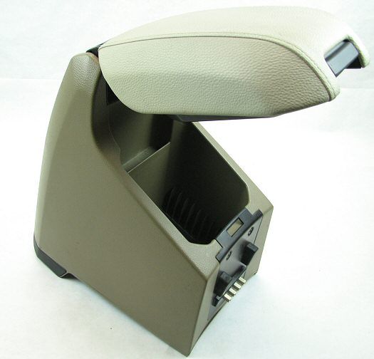 Volvo Removable Center Console w Base Arm Rest Cup Holder Outlet XC90 07 13