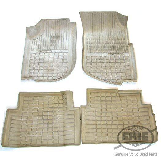 Volvo Floor Mats S60: Volvo OEM Tan Plastic Floor Mats/Trays Fit All Volvo 740