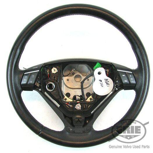 Volvo Xc90 Interior Lights Wont Turn Off: Volvo OEM Leather 3 Spoke Steering Wheel W/NAV For S60 S80