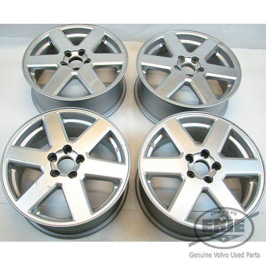 Set of 4 Volvo 17x7 Neptune Alloy Rims Wheels for XC90 03 06